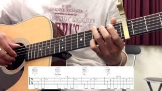 [吉他教學] 方炯鑌 - 遺憾 (主歌)