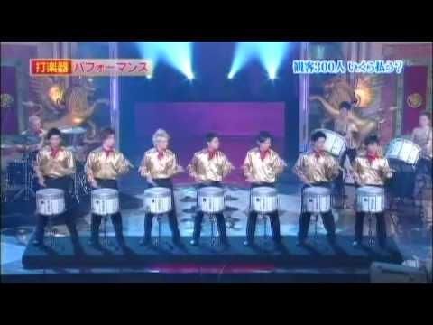 日本テレビ『世界1のSHOWタイム』出演 / ファンカッション