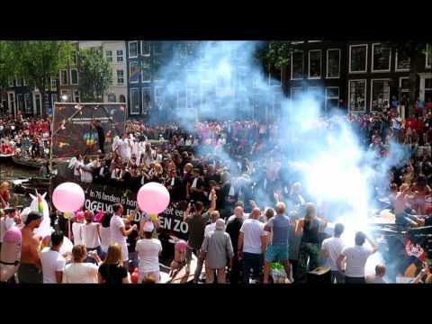 Canal Parade (GAY PRIDE) Amsterdam 2017