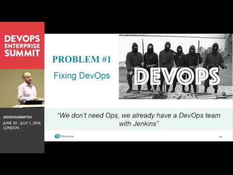 DOES16 London -  Chris Jackson - Disrupting an Enterprise from the Inside