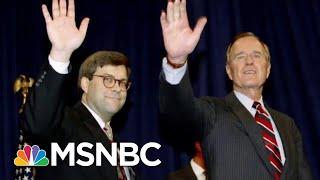 Trump A.g. Pick Advocated Pardons By George H.w. Bush; Bashed Mueller Probe | Rachel Maddow | Msnbc