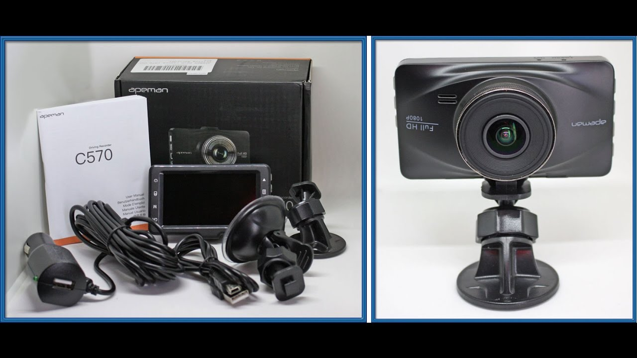 apeman dash cam with 1080p fhd 170 wide angle wdr camera