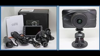 APEMAN Dash Cam With 1080P FHD 170°Wide Angle WDR Camera