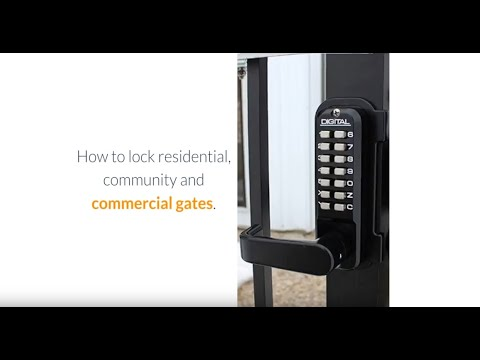 How To Lock A Gate - Gate Lock Options