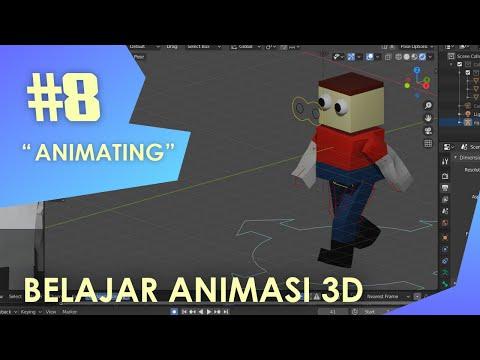 Tutorial Membuat Animasi Fighting 3D Di Android.