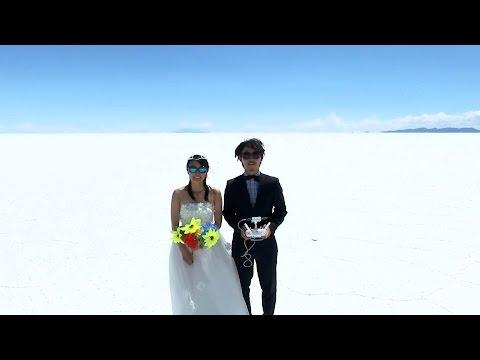 Как надо проводить (и снимать на видео) медовый месяц