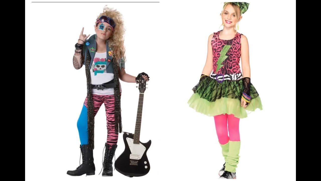 disfraces para ninos anos 80