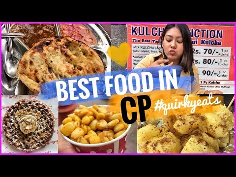 Best Food In Connaught Place | DELHI Street Food, Amritsari Kulcha, Kababs & more| #QuirkyEats Ep.10