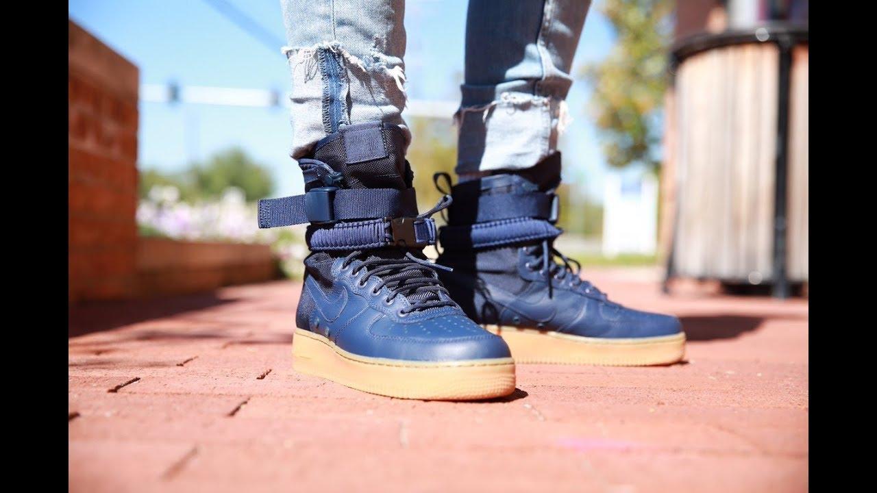 """Nike SF-AF1 """"Navy/Gum (Dope or Nope"""