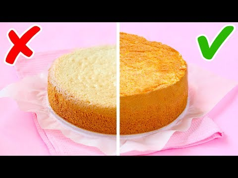 41 DESSERT AND BAKING HACKS