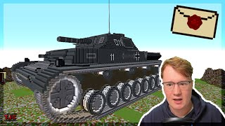 SUPER KRASS: Echter PANZER in Minecraft?! - 📪 2020 Ep. 166