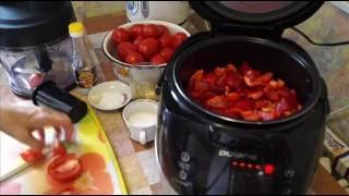 Домашние видео рецепты - лечо в мультиварке
