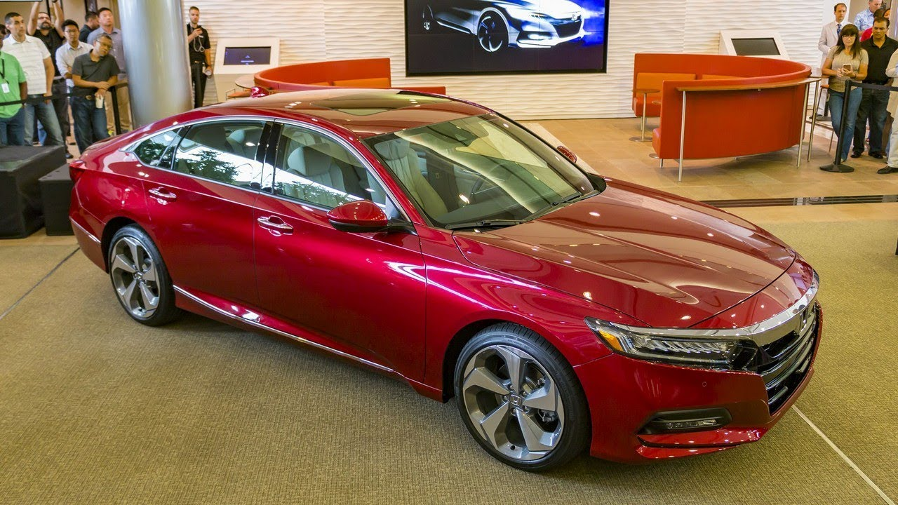 2018 Honda Accord 6 Cylinder Model With Turbo Engine Overview Cars Channel