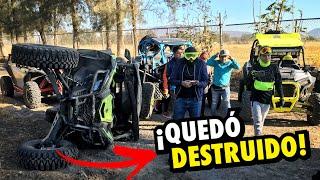 MI AMIGO DESTRUYÓ MI CANAM EN LA RUTA.. | ManuelRivera11