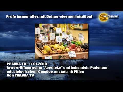 """Ärzte eröffnen echte """"Apotheke"""" und behandeln Patienten mit biologischem Gemüse... PRAVDA TV"""