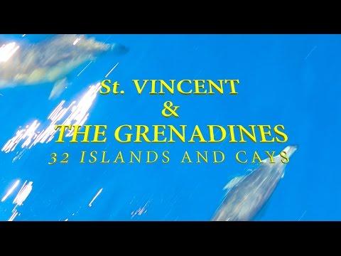 The Grenadine Islands - A BIRDS EYE VIEW!