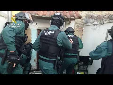 23 detenidos en una operación contra el tráfico de drogas en Santiago de Cartes
