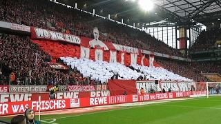 1.FC Köln - VfL Wolfsburg 1:0 (0:0) 04.02.2017 Stimmung Heimkurve Ultras Effzeh Choreo