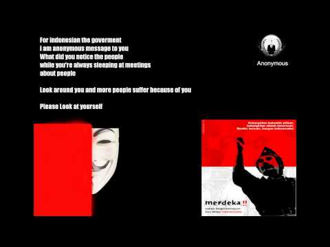 Anonymous  - Message To Indonesia