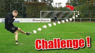 1€ PLASTIK BALL vs. 150€ Fußball Challenge !