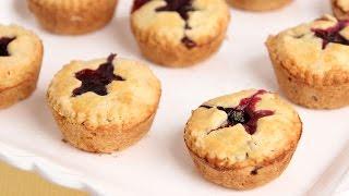 Mini Blueberry Pies Recipe - Laura Vitale - Laura In The Kitchen Episode 810