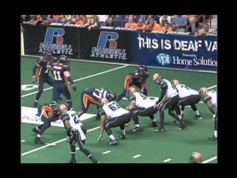 Arizona Rattlers vs Spokane Shock AFL Playoffs 8-6-2010