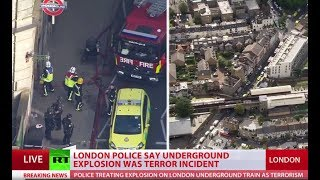 Parsons Green explosion was terrorist attack - London police (Special Coverage)