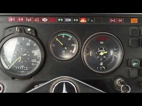 Truck sound Mercedes Benz 18.3 litre V10 non turbo Engine code OM403/OM423 LKW Mercedes NG 2632