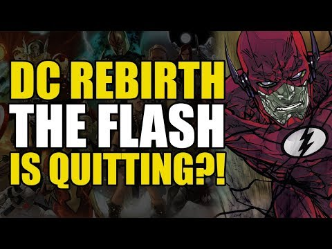 The Flash Rebirth Vol 5: Flash Quits?!