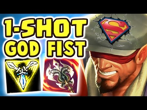 IT'S NOT FAIR HE CAN'T DO THAT | FULL AD GOD FIST LEE SIN JUNGLE | THE SUPERMAN - Nightblue3