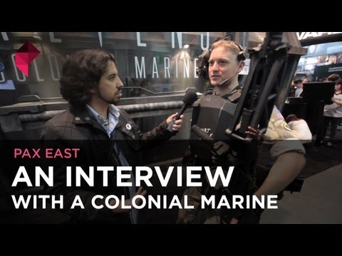 PAX East 2012 - An Interview With A Colonial Marine
