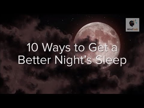 25 Guidelines to help you Obtain a Better Night's Sleep