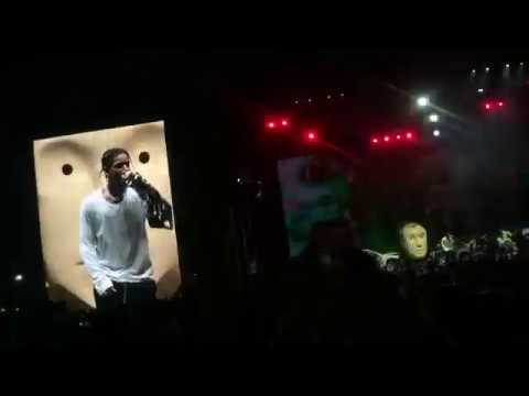 A$AP Rocky Performs UNRELEASED SONG At CAMP FLOG GNAW (FULL SONG)