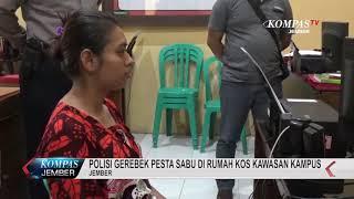 Polisi Grebek Pesta Sabu Di Rumah Kos Kawasan Kampus, 2 Pelaku Melarikan Diri
