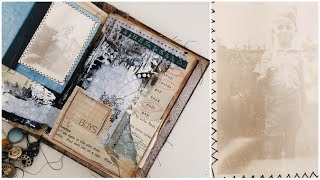 Nameless Art Journal | Vintage Art Journal | Imagination