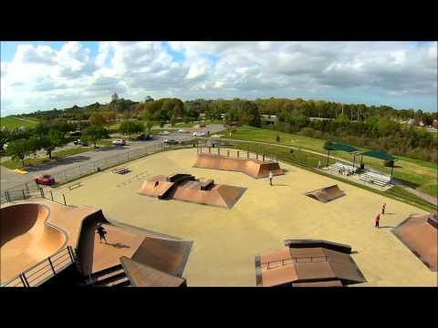 Mt  Trashmore Skate Park by VB2 Aerial