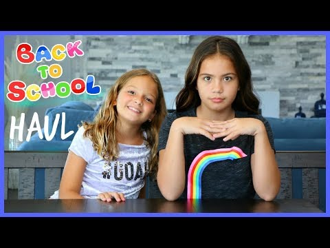 BACK TO SCHOOL CLOTHING HAUL 2018 | SISTER FOREVER