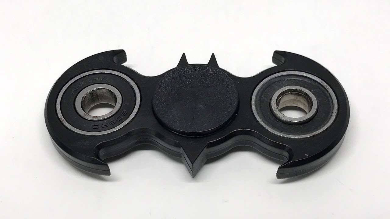 Batman Fidget Spinner Sounds No Talking