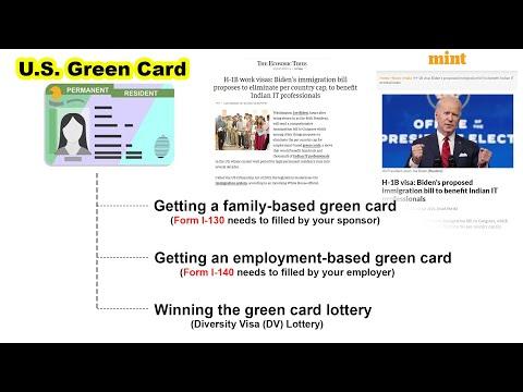 H-1B work visas | Joe Biden's immigration bill | Benefit to Indian IT
