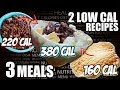 The BEST LOW CALORIE Meals For CUTTING! HIGH Volume PURE PROTEIN, ZERO Fat and Carbs