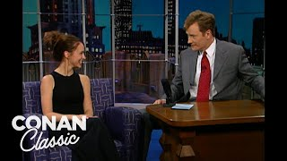 Jennifer Love Hewitt Got Caught Making Out In A Car - 'Late Night With Conan O'Brien'