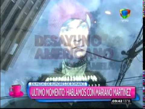 Mariano Martínez sobre los rumores que lo vinculan con Lali: Ya está, ya lo desmentí