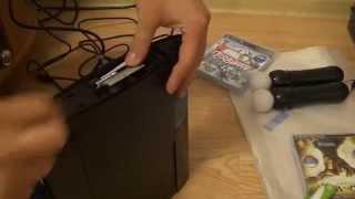 Установка, замена, модернизация жесткого диска HDD на Sony Playstation3 Super Slim 12Gb