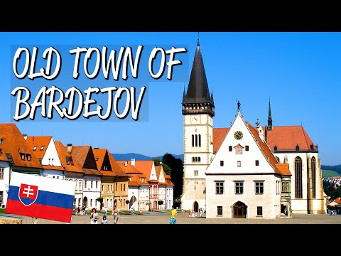 Bardejov Town Conservation Area - UNESCO World Heritage Site
