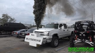 2000+TQ DURAMAX GLYCERINE ON REV LIMITER!!!