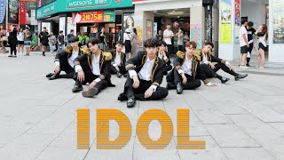 [KPOP IN PUBLIC CHALLENGE] BTS(방탄소년단)-IDOL Dance Cover By B-ZING From Taiwan