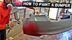 HOW TO PAINT A BUMPER COVER LIKE A PRO
