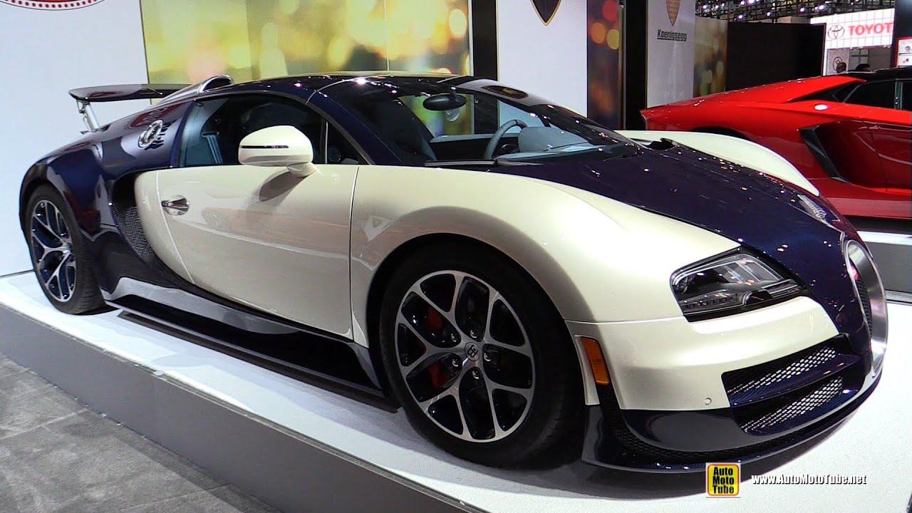 2014 Bugatti Veyron Walkaround 2015 New York Auto Show Youtube