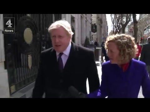 Asking Boris Johnson about offshore trusts and funds