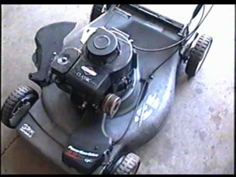 Craftsman Self Propelled Lawnmower Belt Replacement Youtube